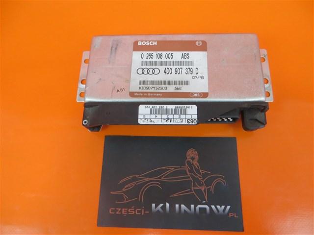 AUDI A4 B5 STEROWNIK ABS 1.8 20V 0265108005 ,4D0907379D,